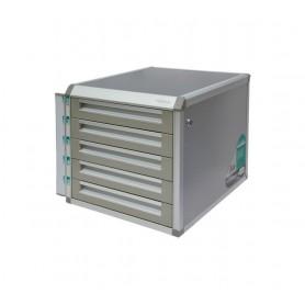 MODULO 5 CAJONES OFFICE BOX C/LLAVE GRIS