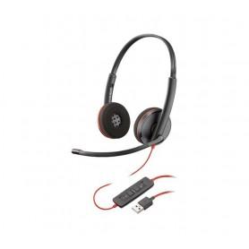 AURICULAR PLANTRONICS BLACKWIRE C3220 USB A BIAU.