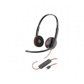 AURICULAR PLANTRONICS BLACKWIRE C3220 USB C BIAU.