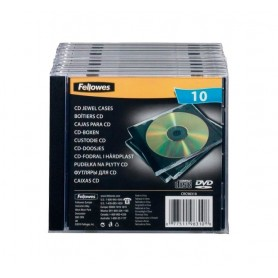 CAJA PARA CD/DVD (10U.) JEWEL
