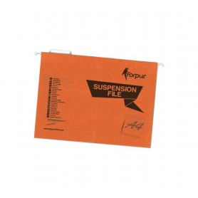CARPETA COLGANTE SUPERIOR COLOR A4 (25U.) NARANJA