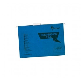 CARPETA COLGANTE SUPERIOR COLOR A4 (25U.) AZUL