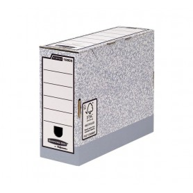 ARCHIVO DEFINITIVO CARTON FELLOWES 100MM.GRIS 1080501