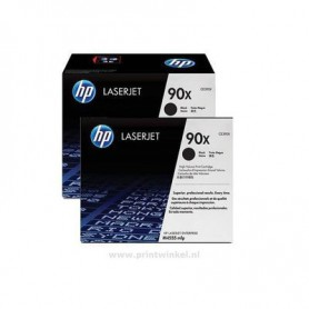 TONER LASER HP  90X (2x24000) CE390XD NEGRO PACK 2