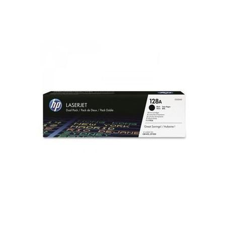 TONER LASER HP 128A (2x2000P.) CE320AD PACK 2U. NE