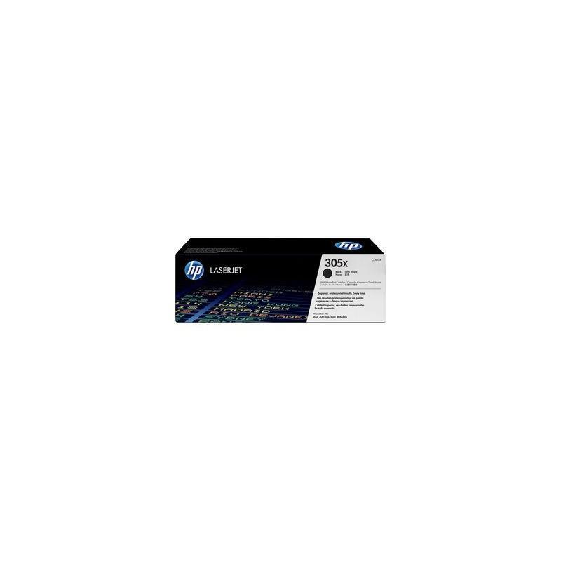 TONER LASER HP 305X (4000P) CE410X NEGRO