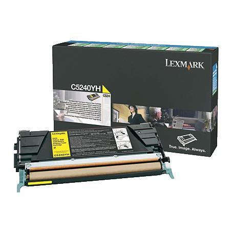 TONER LASER LEXMARK C5240YH AMARILLO (5.000 P.)