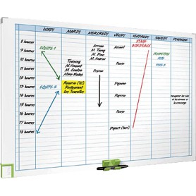 PLANNING SEMANAL MAGNETICO 600x900 MM. NOBO