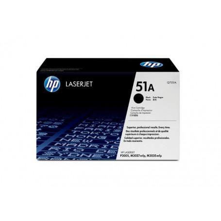 TONER LASER HP  51A (6500P) Q7551A NEGRO
