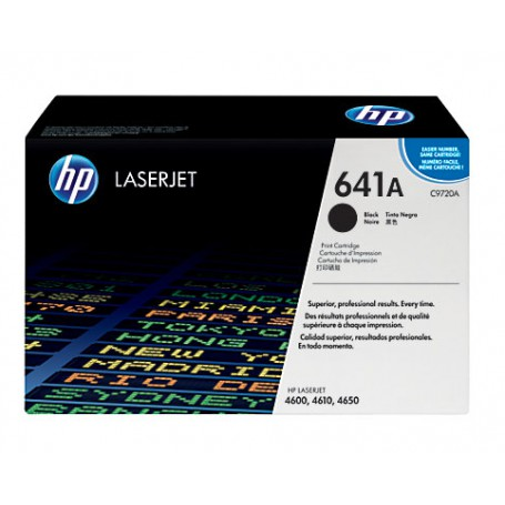 TONER LASER HP 641A (9000P.) C9720A NEGRO