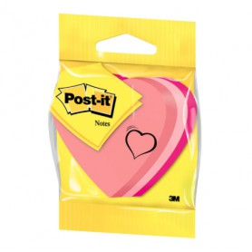 BLISTER POST-IT FORMA CORAZON 225 HOJAS