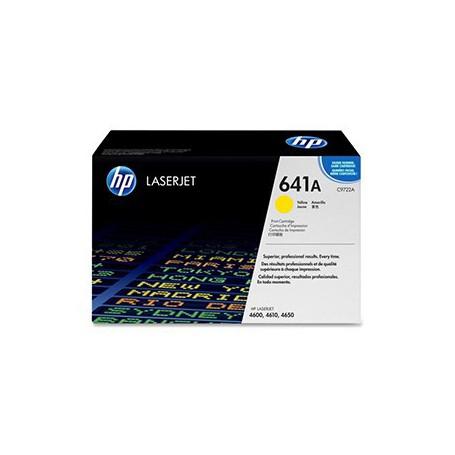 TONER LASER HP 641A (8000P.) C9722A AMARILLO