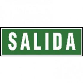 PLACA SEÑAL NORMALIZADA -SALIDA- (2U.)