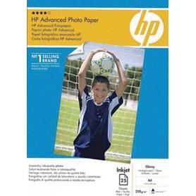 PAPEL FOTOGRAFICO HP ADVANCED GLOSS A4 (25H.) Q545