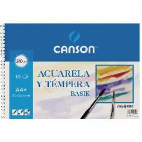 BLOC ACUARELA A4+ MINIPACK 6H. CANSON