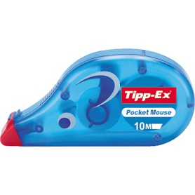 CINTA CORRECTORA 4,2 MM. 10 MTS. TIPP-EX POCKET MOUSE