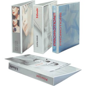CARPETA PERSONALIZABLE A4 2A. 25MM. BLANCO ESSELTE