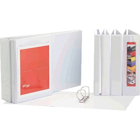 CARPETA PERSONALIZABLE A4 4A. 52MM. BLANCO PARDO