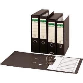 ARCHIVADOR CARTON COMPACTO ELBA A4 80MM. C/RADO