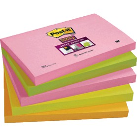 BLOC POST-IT  76x127 SUPER STICKY (5U.) CAPE TOWN
