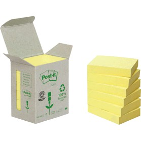BLOC POST-IT 38X51 TORRE (6U.) LINEA VERDE