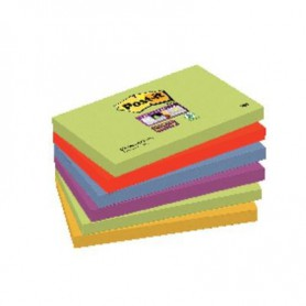 BLOC POST-IT  76x127 SUPER STICKY (6U.) MARRAKESH