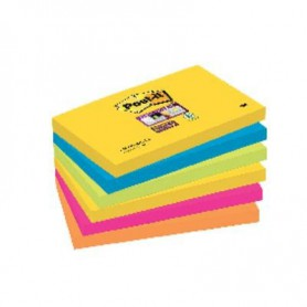 BLOC POST-IT  76x127 SUPER STICKY (6U.) RIO DE JAN