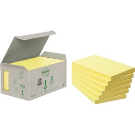 BLOC POST-IT  76X127 TORRE (6U.) LINEA VERDE