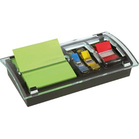 DISPENSADOR POST-IT Z-NOTES + 12 BLOCS  + INDEX