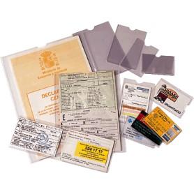 PORTACARNET PVC 122X172MM (100U) 46008