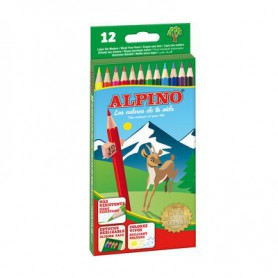 LAPICES DE COLORES ALPINO (12U.) SURTIDO ESTUCHE C