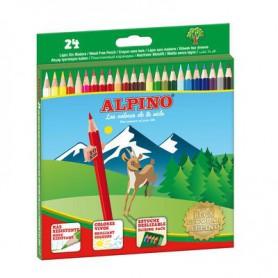 LAPICES DE COLORES ALPINO (24U.) SURTIDO ESTUCHE C