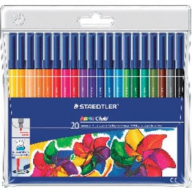 ROTULADORES COLORES STAEDTLER NORIS CLUB (20U.) ES