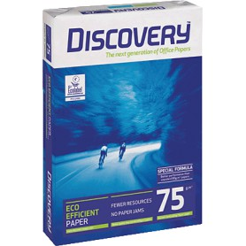 PAPEL MULTIFUNCION A4 75GR. (500H.) DISCOVERY