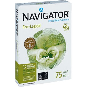 PAPEL MULTIFUNCION A4  75GR. (500H.) NAVIGATOR ECO-LOGICAL