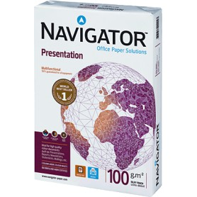 PAPEL MULTIFUNCION A4 100GR. (250H.) NAVIGATOR PRESENTATION