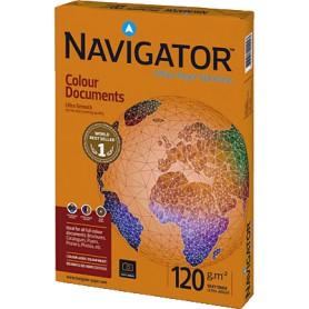 PAPEL NAVIGATOR COLOUR A4 120GR. (250H.)