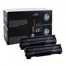 TONER LASER HP  85A (2x1600P.) CE285AD DUAL PACK NEGRO