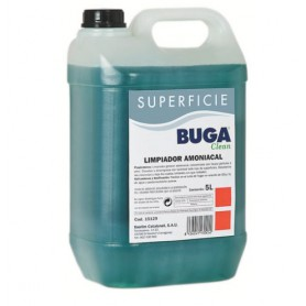 LIMPIADOR GENERAL BUGA AMONIACADO 5L.