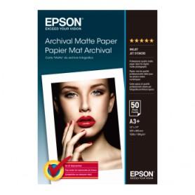 PAPEL EPSON A3 MATTE ARCHIVAL (50H.)