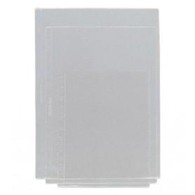 FUNDA MULTITALADRO A4 S/REF PVC 100MIC. (100U.) 5*