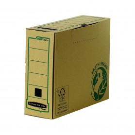 ARCHIVO DEFINITIVO CARTON A4 FELLOWES 100MM. NATURE