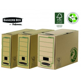 ARCHIVO DEFINITIVO CARTON Fº FELLOWES 100MM. NATUR