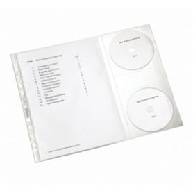 FUNDAS PROYECTOS (5U) PP C/2CD A4 47613003