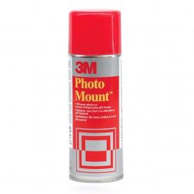 PEGAMENTO SPRAY 3M PHOTO MOUNT 400ML. PERMANENTE