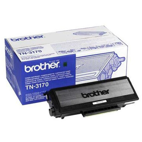 TONER LASER BROTHER TN-3170 (7000P.) NEGRO ALTA CAPACIDAD