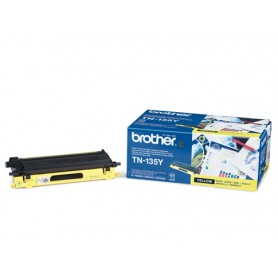 TONER LASER BROTHER TN-135Y (4000P) AMARILLO ALTA