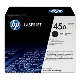 TONER LASER HP  45A (18000P.) Q5945A NEGRO