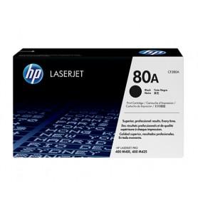 TONER LASER HP  80A (2700P.) CF280A NEGRO