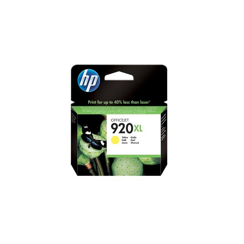 INK-JET HP 920XL (700P.) CD974AE AMARILLO